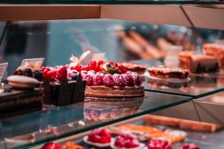 display fridge for bakery